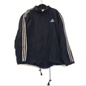 [ADIDAS] Striped Light Track Jacket Jogger XL